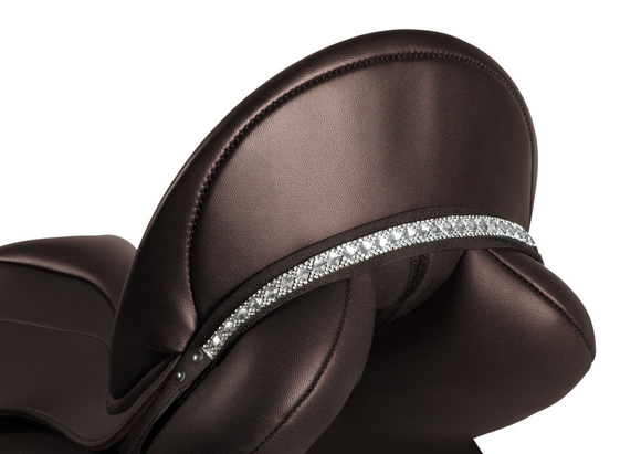 QHP Sharina Saddle Jewels. Decorative bling for the dressage rider in and out of the competition ring for the fashionable equestrian.