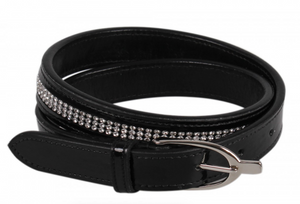 QHP Las Vegas horseback riding leather belt for the fashionable equestrian.