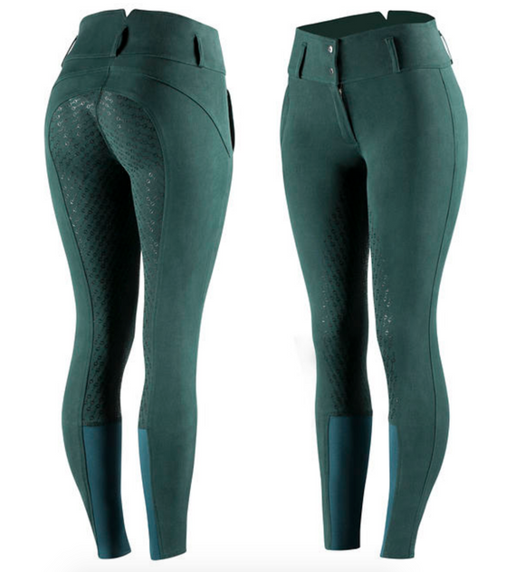 gorgeous equestrian high-waisted horseback riding pants by Horze Equestrian.