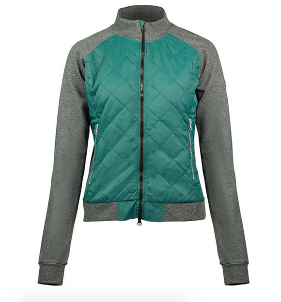 The Horze combination jacket for horseback riders and stylish equestrians.