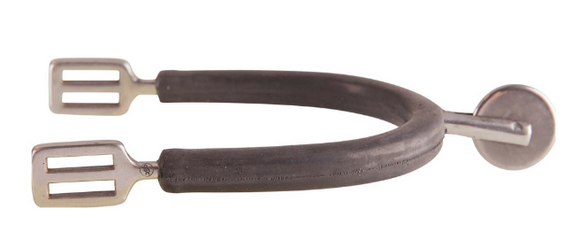 BR Epsom spur with large disc for horseback riding