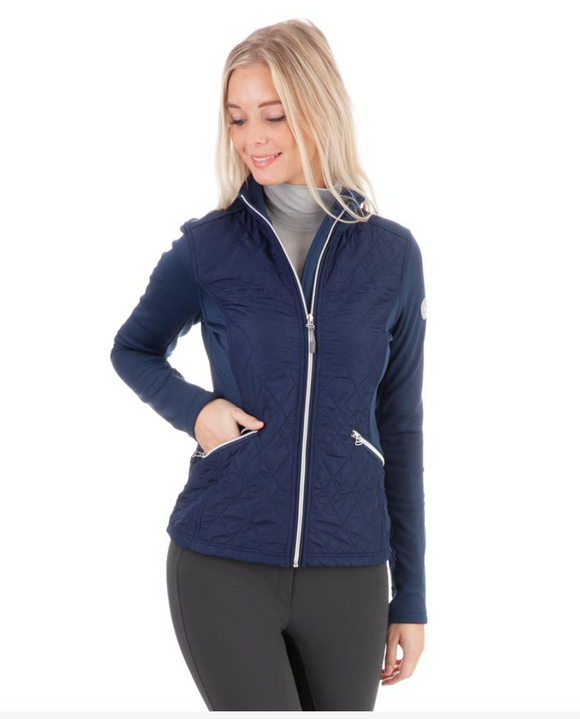 Anky techno-stretch jacket for the fashionable equestrian riding in the winter months. These horseback riding jacket for fashionable equestrians.