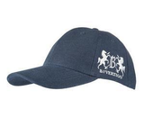 B Vertigo baseball hat for horseback riders.