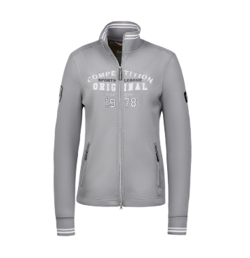 Cavallo international clothing for the styled equestrian. This zip-up sweater is the perfect horseback riding gear that will protect you while riding.