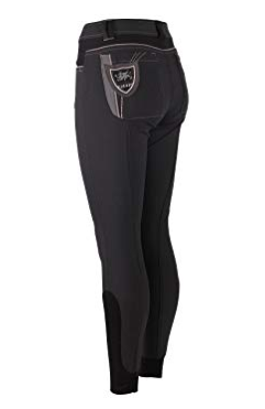 The QHP Claire full-seat breeches are designed with the fashion-forward horseback rider in mind.