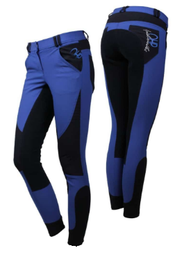 The QHP Joni full-seat breeches are great for making a statement in and out of the saddle.