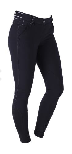 QHP Meghan horseback riding pants for fall and winter riding. These fashionable equestrian pants are great for all horseback riders.