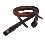 QHP rubber reins for all types of horseback riding. These horseback riding reins are good for everyday riding, dressage, hunter/jumper and eventing.