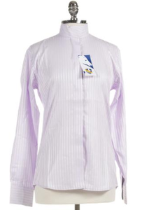 The RH long-sleeve show shirt is a classically styled cotton show shirt.