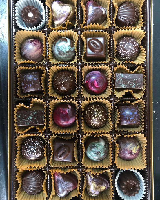 Zak's Local Artisanal Chocolate - 24 Piece Box - North Scottsdale Floral
