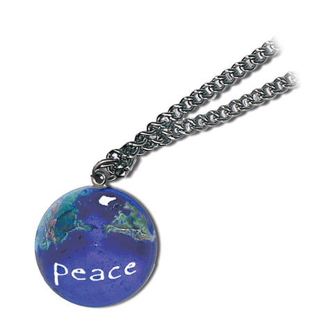 "1"" Peace On A Natural Earth - Steel Chain"