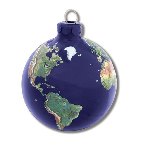 "2.5"" Natural Earth Ornament"