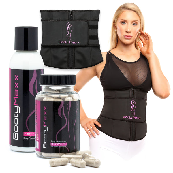 Booty Maxx Kit + Waist Trainer