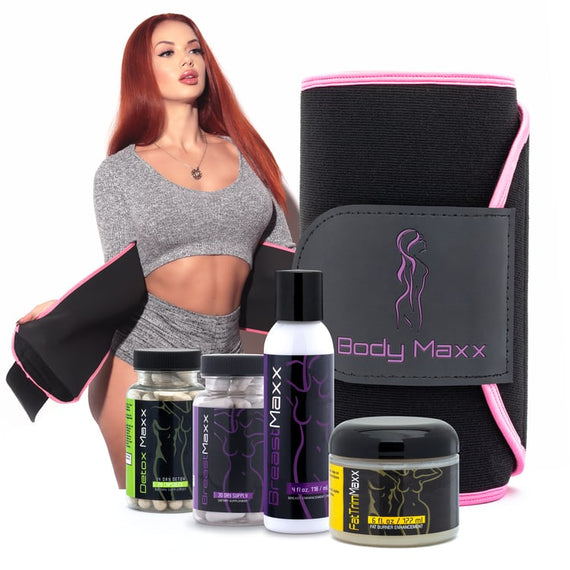 Breast Maxx Kit & Fat Trim Kit + FREE DETOX SUPPLEMENTS