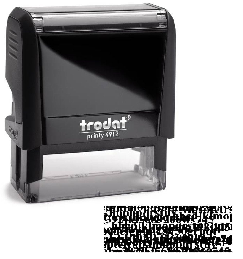 Tietoturva leimasin Trodat 4912 ID-protection stamp