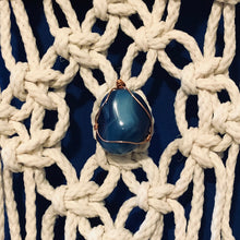 Load image into Gallery viewer, Macrame Agate Wall Hanging | Grace Andersen Designs