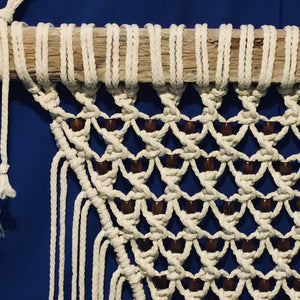 Macrame Bead Wall Hanging | Grace Andersen Designs