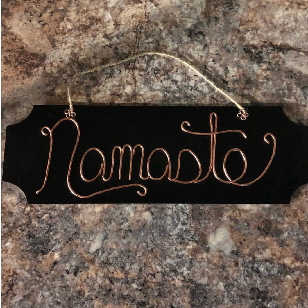 Nameste Wall Art Hanging | Grace Andersen Designs