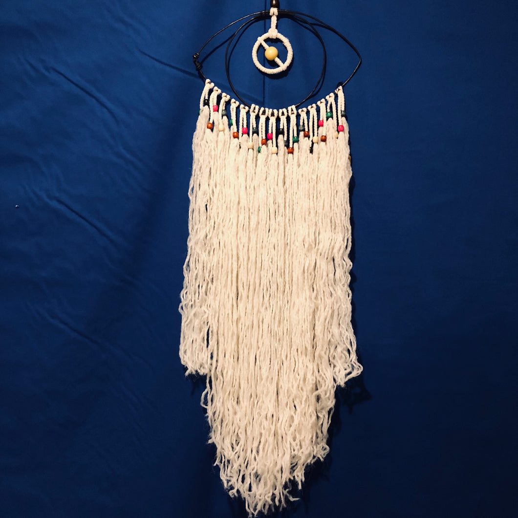 Macrame Third Eye Wall Hanging | Grace Andersen Designs