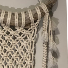 Load image into Gallery viewer, Macrame Horn Wall Hanging | Grace Andersen Designs