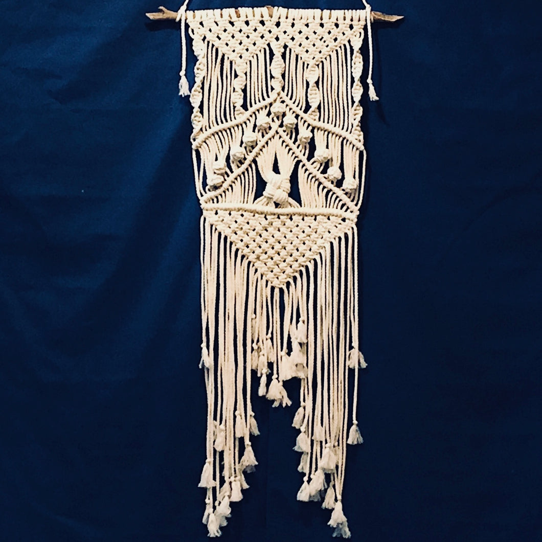 Macrame Button Wall Hanging | Grace Andersen Designs