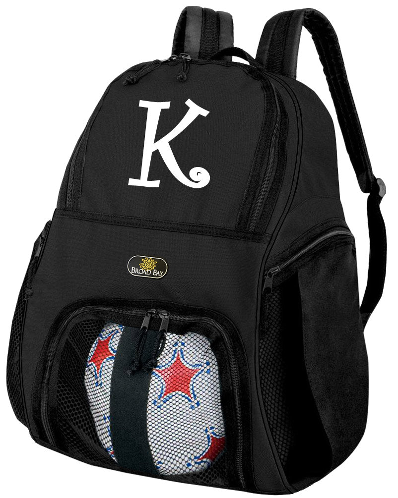 Monogrammed Soccer Backpack