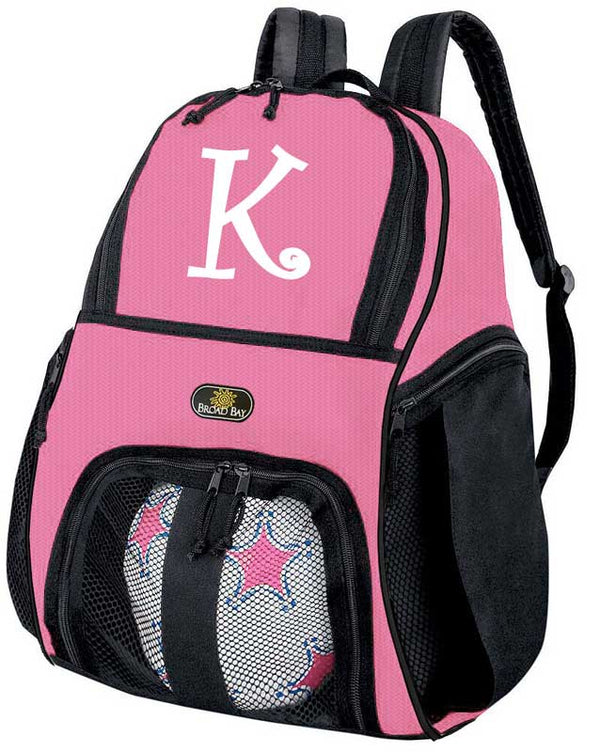 Personalized Girls Soccer Bag Backpack