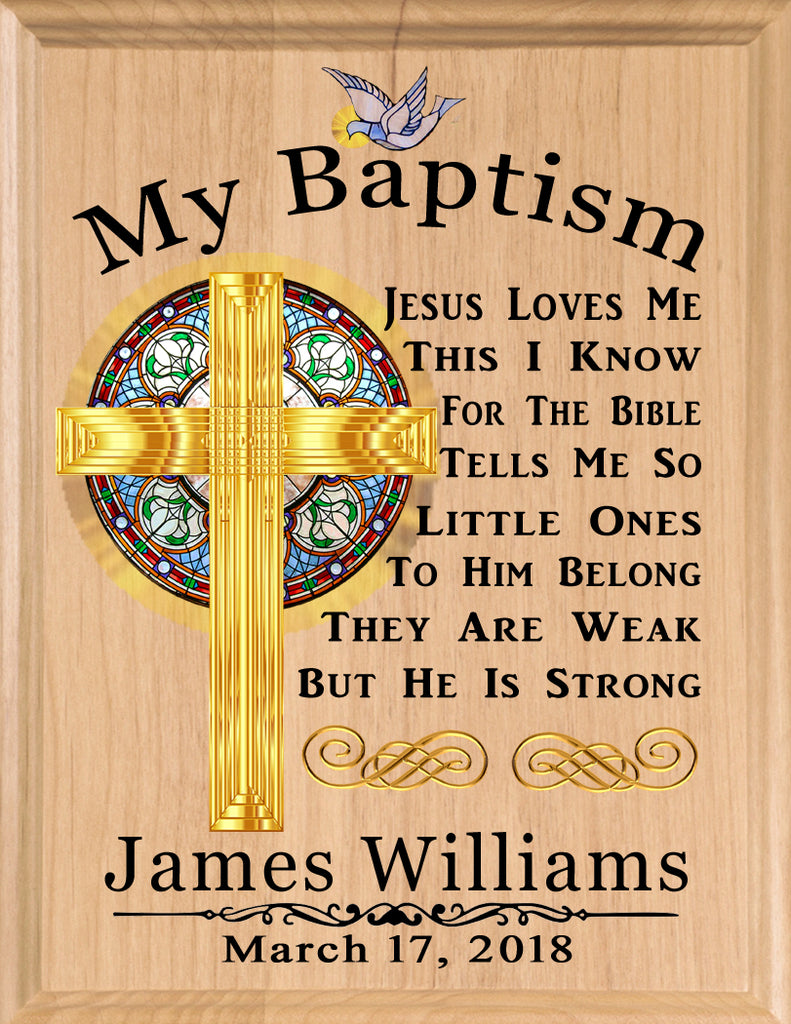 Baptism Gift Personalized for Boy or Girl