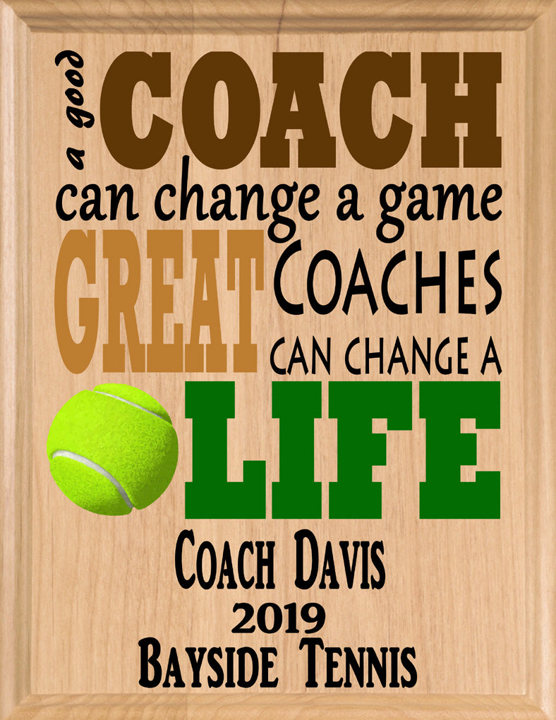Tennis Coach Gifts