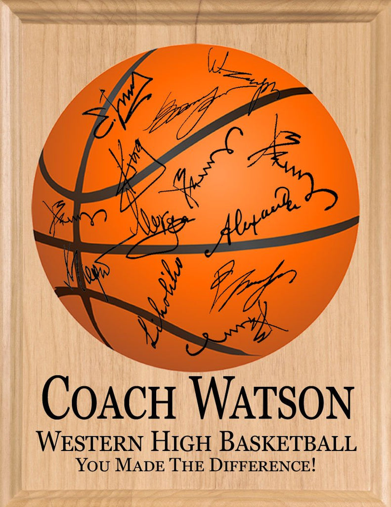 Basketball Coach Gift