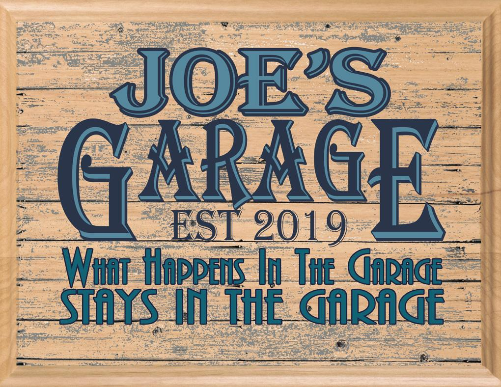 Custom Garage Signs