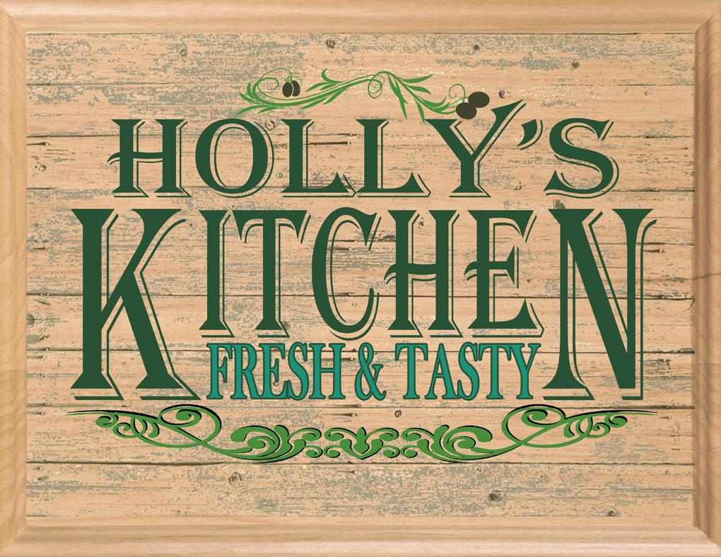 Custom Kitchen Wall art