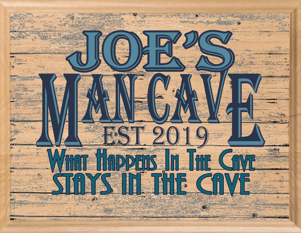 Man Cave Art Decorations