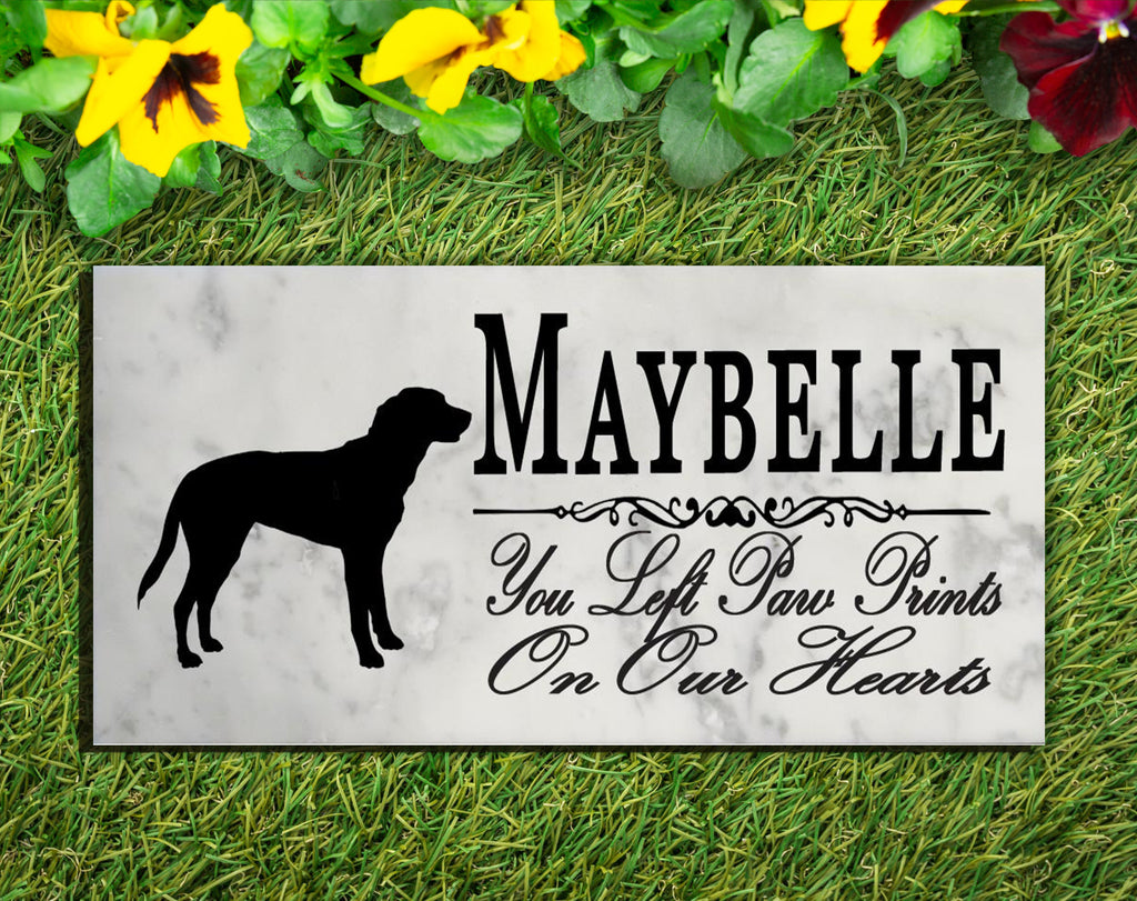 Greater Swiss Mountain Dog Memorial Stone PERSONALIZED Greater Swiss Mountain Dog Dog Garden Rock Grave Marker Outdoor or Indoor
