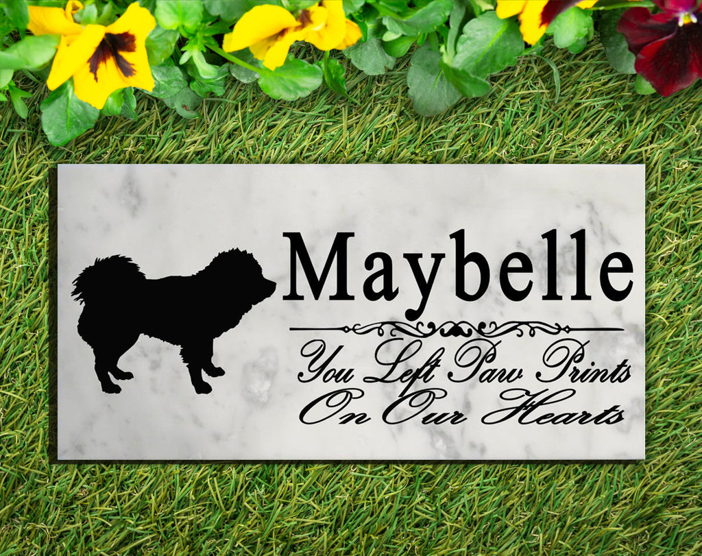 Tibetan Mastiff Memorial Stone PERSONALIZED Tibetan Mastiff Dog Garden Rock Grave Marker Outdoor or Indoor
