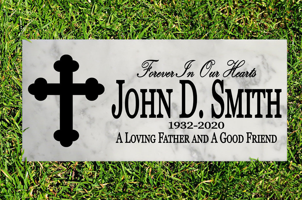 Personalized Garden Memorial Stone Loved One Gift