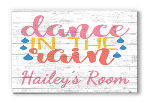 Customized Name Sign for Child's Room, Personalized Wood Farmhouse Décor for Home, Spring, Little Girl Gift Idea