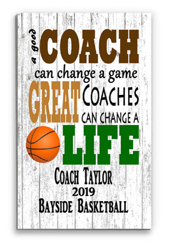Basketball Coach Gifts