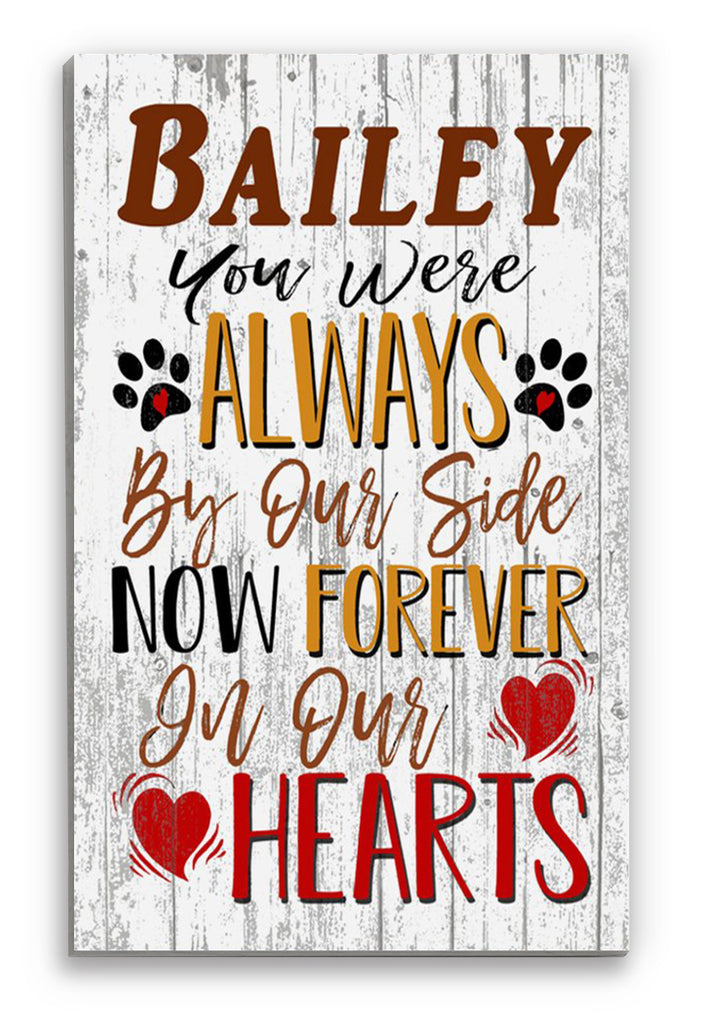 Dog Memorial GIft CUSTOM Pet Rememberance Memento Keepsake