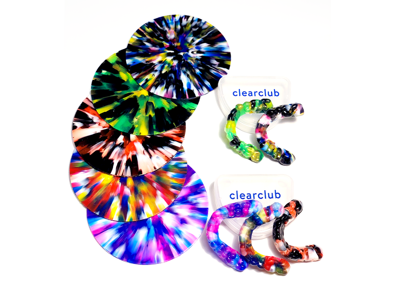 Coloriffic!: ClearClub's New Squad of Multi-Colored Guards