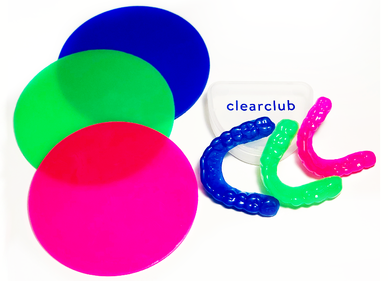 Introducing ClearClub Guards In Colors!