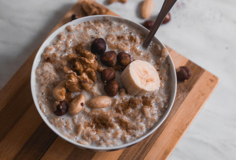 Oatmeal; royalty free image courtesy of Unsplash