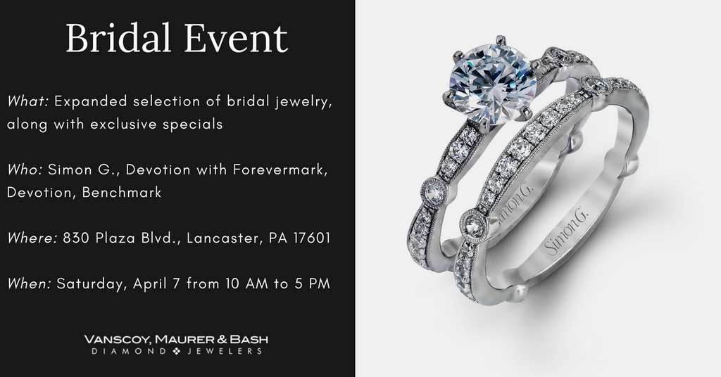 Bridal Jewelry Event at Vanscoy, Maurer & Bash