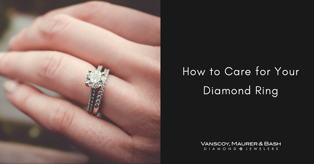 How to Care for Your Diamond Ring