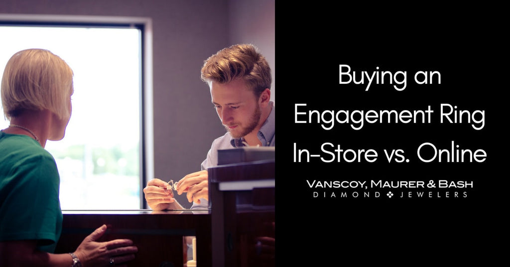Why You Should Buy an Engagement Ring In-Store