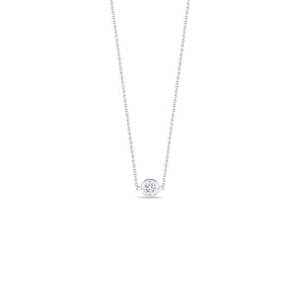 Roberto Coin Single Station Diamond Necklace