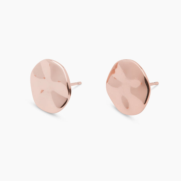 Chloe Small Studs, Rose Gold