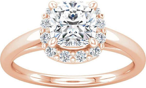 Dimaond Halo Engagement Ring