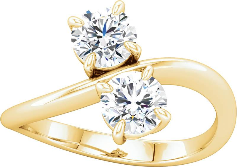 Two Stone Engagment Ring