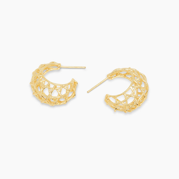 Tulum Statement Small Hoops